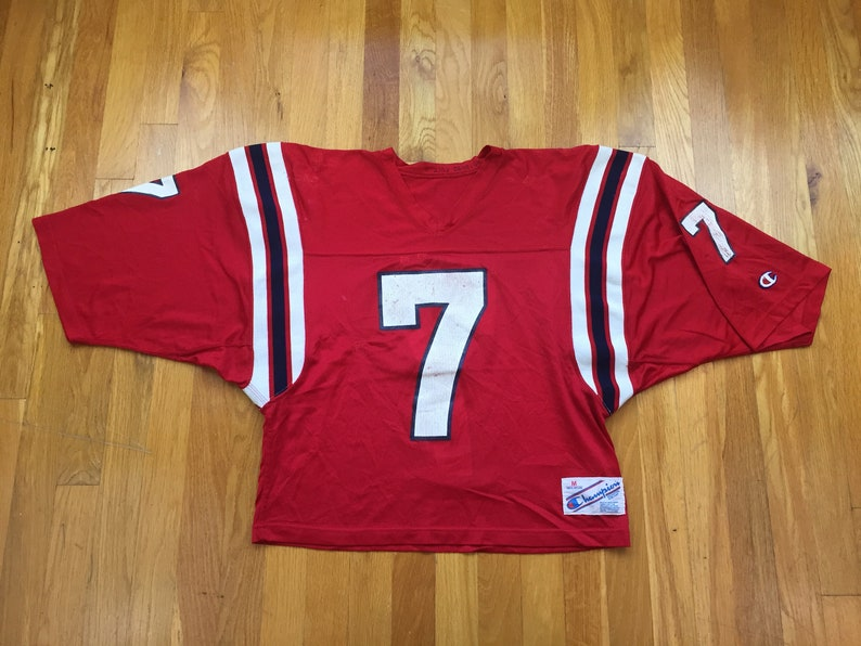 6feb7670d Vintage Champion football jersey 80s champion jersey 7