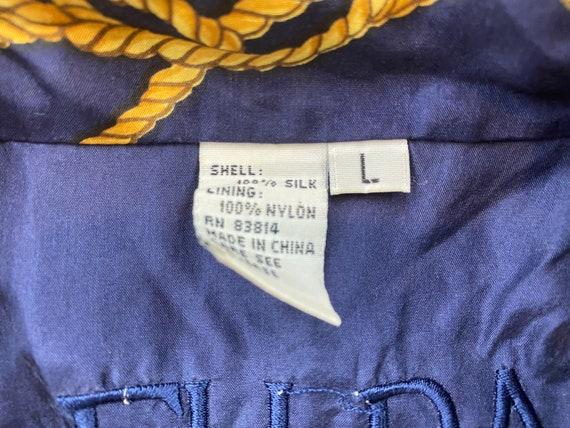 Vintage Fuda Silk Jacket 80s silk jacket vintage … - image 6