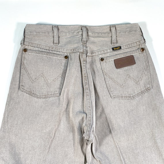Vintage Wrangler Jeans 90s Wrangler Denim wrangle… - image 9