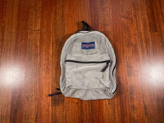 Vintage Jansport mesh backpack 90s jansport backpa