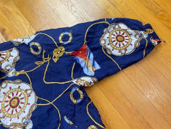 Vintage Fuda Silk Jacket 80s silk jacket vintage … - image 7