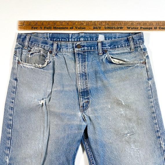 Vintage Levis Orange Tab Jeans 90s levis jeans vi… - image 5