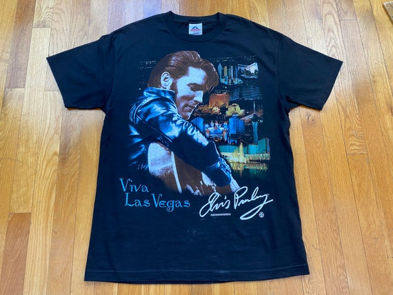 Vintage Elvis tshirt 90s elvis presley shirt 1997