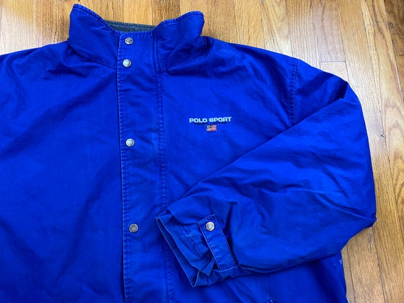 Vintage Polo Sport jacket 90s polo sport coat polo