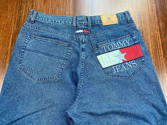 Vintage Tommy Hilfiger Jeans 90s Tommy Hilfiger d… - image 10