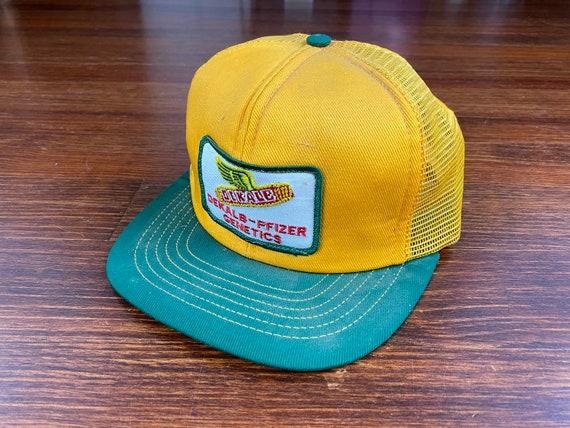 Vintage Dekalb trucker hat 80s dekalb hat vintage