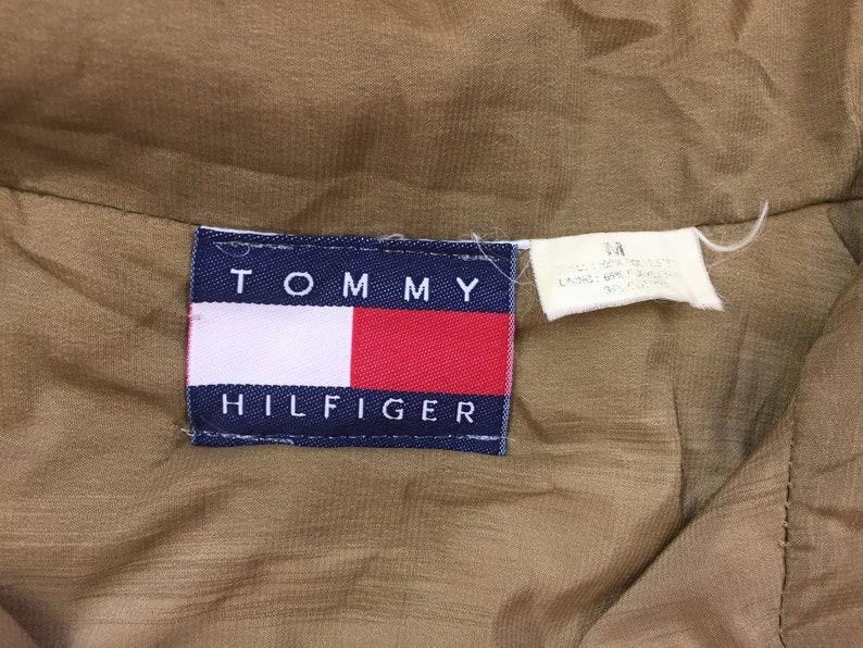 Vintage Tommy Hilfiger giacca 90s Tommy HIlfiger bootleg giacca tommy hilfiger giacca a vento 49ers Giacca Giacche stile tommy bandiera tommy 90s