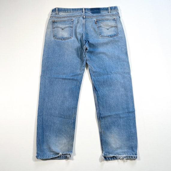Vintage Levis Orange Tab Jeans 90s levis jeans vi… - image 8