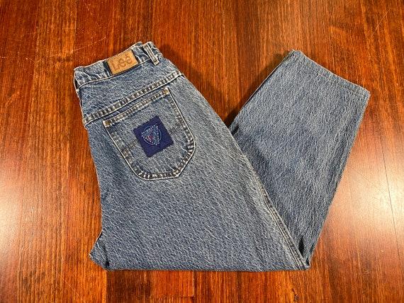 Vintage Lee Jeans 90s lee denim lee acid washed je