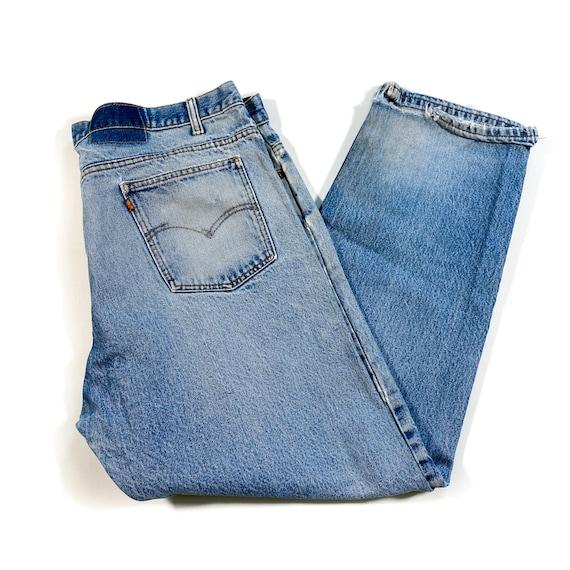 Vintage Levis Orange Tab Jeans 90s levis jeans vi… - image 1