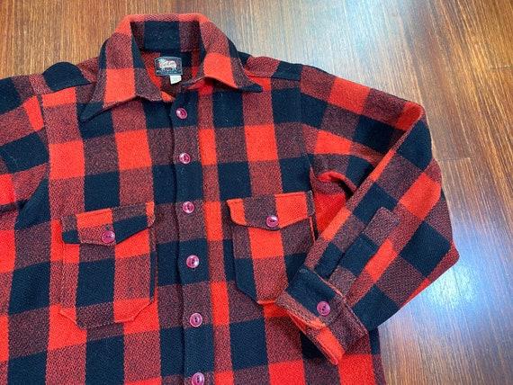 Vintage Woolrich Shirt Jacket 50s woolrich flannel