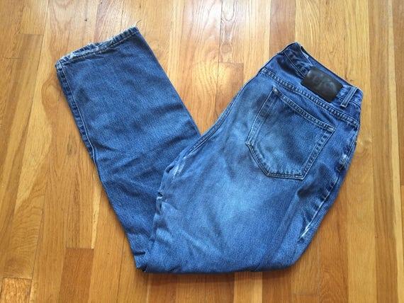 82fd51fc Vintage Calvin Klein Jeans size 14 31 waist acid washed denim | Etsy