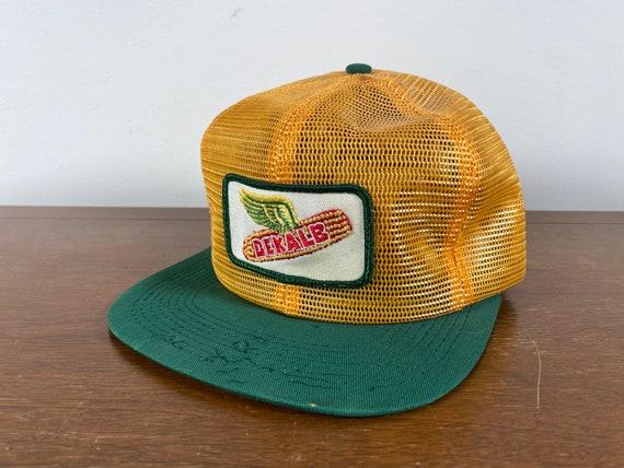 Vintage Dekalb K Brand Trucker hat 70s dekalb truc