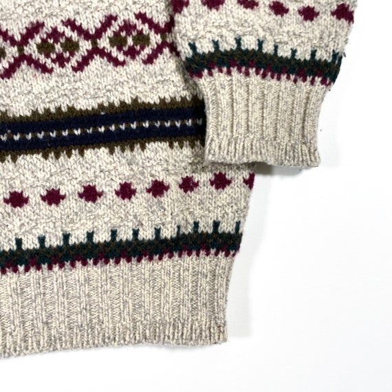 Vintage LL Bean Sweater 80s LL Bean sweater Made … - image 2