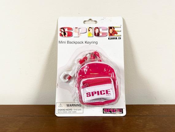Vintage Spice Girls Backpack Keychain vintage spic