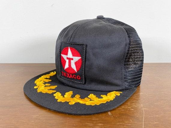 Vintage Texaco Trucker Hat 80s texaco patch trucke