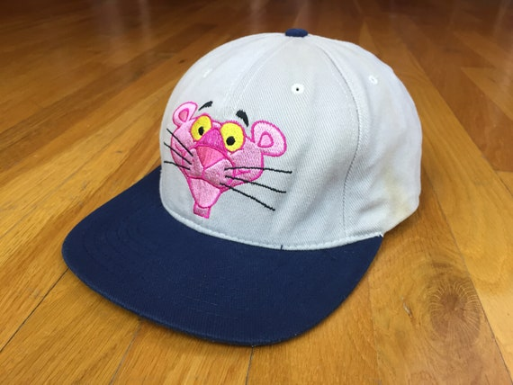 7bc3c0b579977 Vintage Pink Panther hat 1998 Pink Panther hat french police detective  Jacques Clouseau