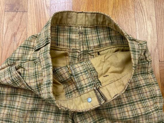 Vintage Key Man pants 60s key man plaid pants 60s… - image 6
