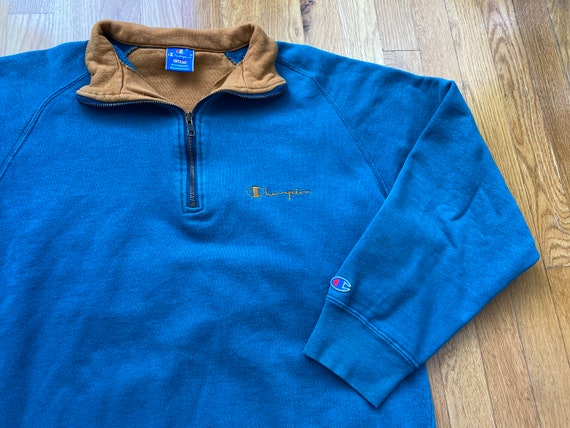 Vintage Champion quarter zip 90s champion sweatshi