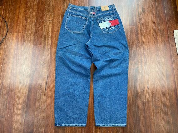 Vintage Tommy Hilfiger Jeans 90s Tommy Hilfiger d… - image 9