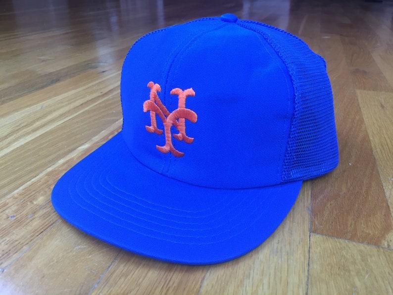 Vintage New York Mets hat Mets cap 90s ny Mets hat Mets  1c3ef9a3f