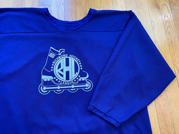 Vintage Richmond hockey league jersey 90s rhl jers