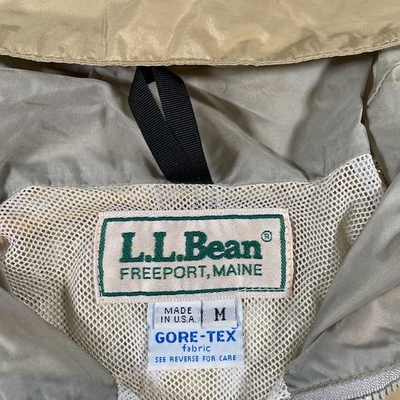 Vintage LL Bean Goretex Jacket 80s ll bean jacket… - image 4