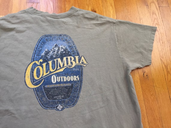 Vintage 90s Colombia Shooting shirt