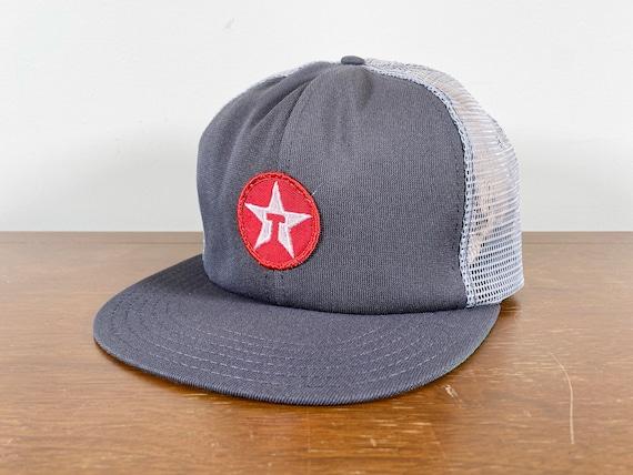 Vintage Texaco Patch Trucker hat 70s texaco patch