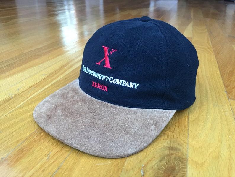 ba4fc80a9dc Vintage Xerox hat 90s Xerox cap the document company zkapz