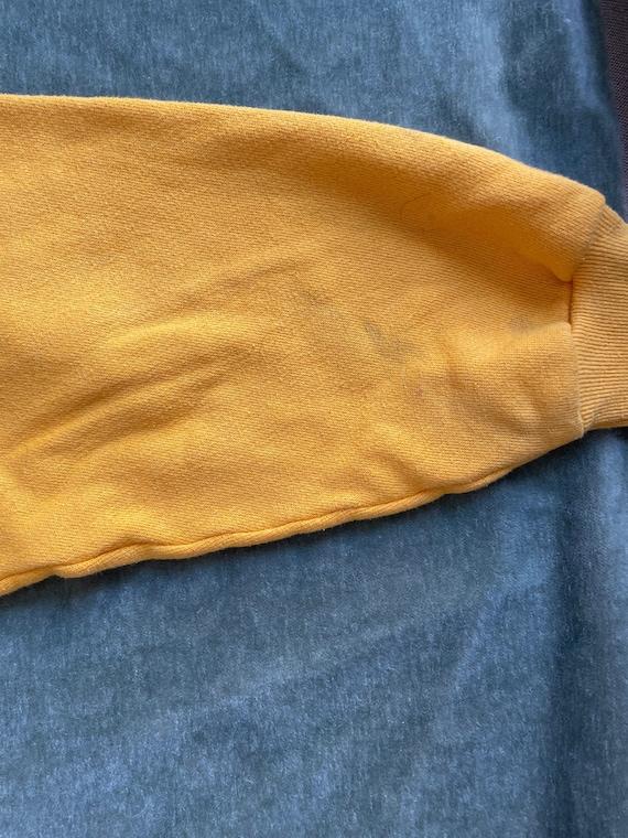 Vintage 70s Vanderbilt Swimming Hoodie Sweatshirt… - image 7
