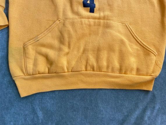 Vintage 70s Vanderbilt Swimming Hoodie Sweatshirt… - image 4