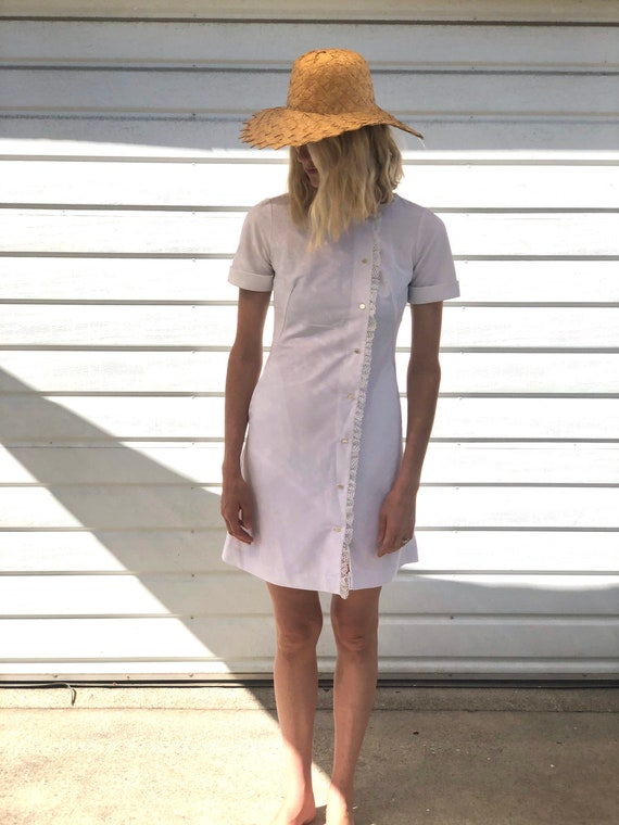 Vintage 1960s Nurse Waitress Dress,Barco from Cali