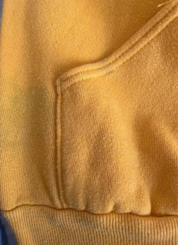 Vintage 70s Vanderbilt Swimming Hoodie Sweatshirt… - image 10