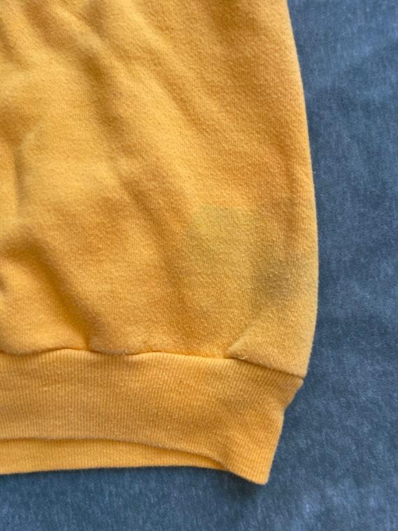 Vintage 70s Vanderbilt Swimming Hoodie Sweatshirt… - image 6