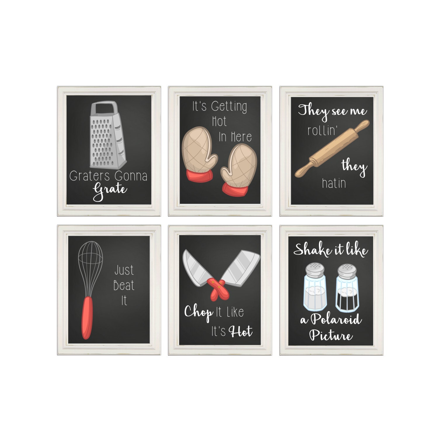 Funny kitchen prints kitchen song signs kitchen wall art