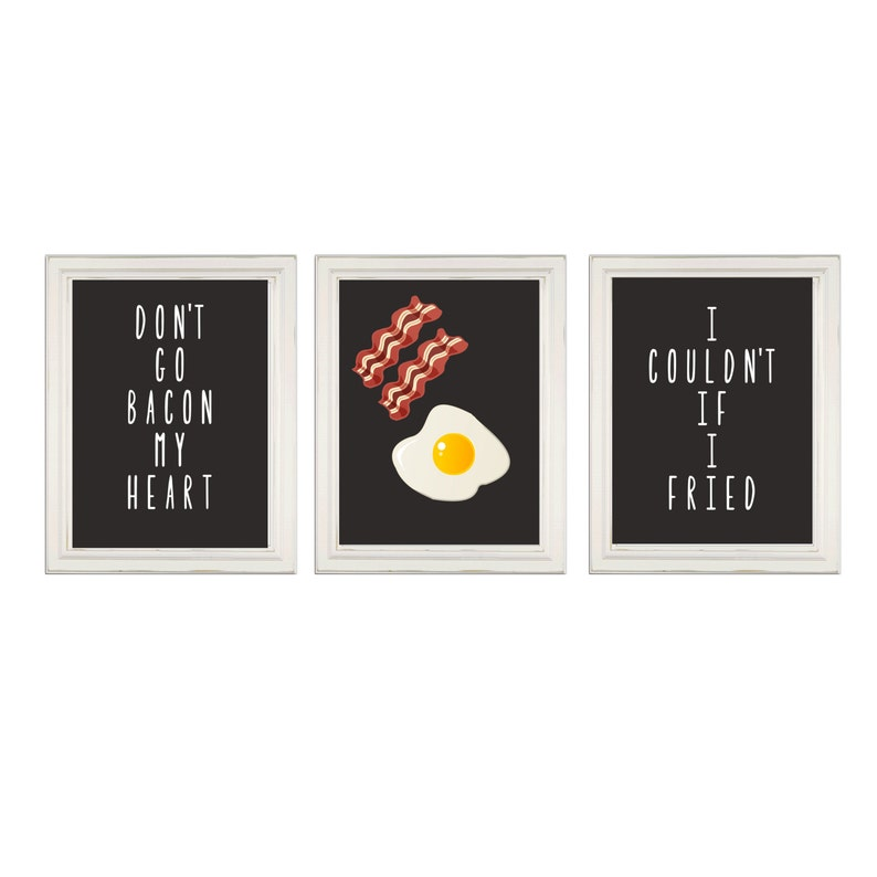 Lustige Küchen Zeichen nicht Speck mein Herz gehen ich kann | Etsy
