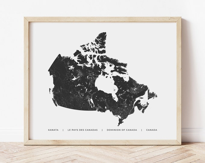 Canadian Heritage Map