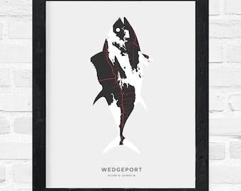 Wedgeport Tuna Print
