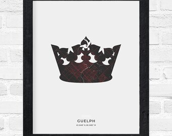 Guelph Crown Print