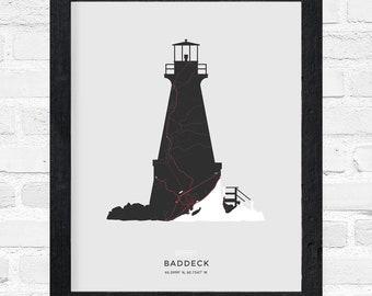 Baddeck Lighthouse Print