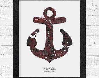 Calgary Anchor Print