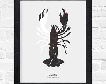 Clare Lobster Print