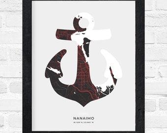 Nanaimo Anchor Print
