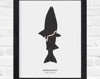 Miramichi Salmon Print