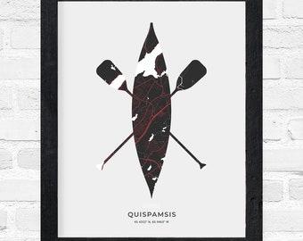 Quispamsis Canoe Print