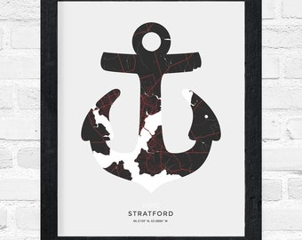 Stratford Anchor Print