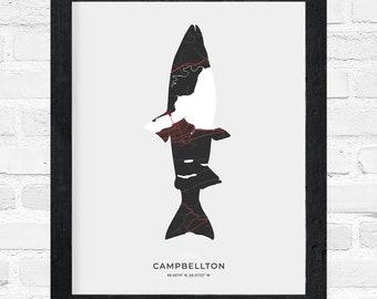 Campbellton Salmon Print