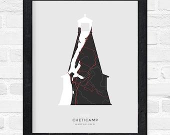 Cheticamp Lighthouse Print