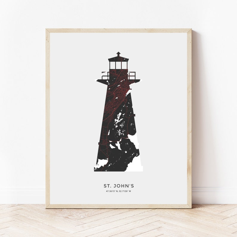 St. John's NL Cape Spear Lighthouse Print image 0